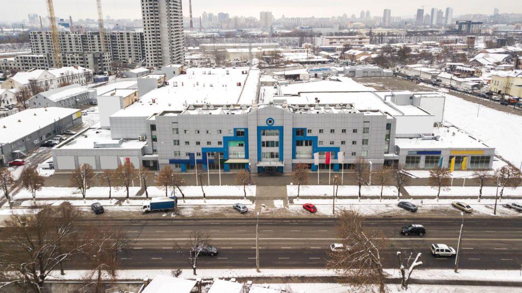 аэрофотография киев