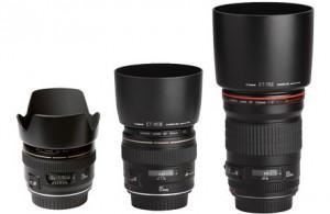 Canon 28+85+135