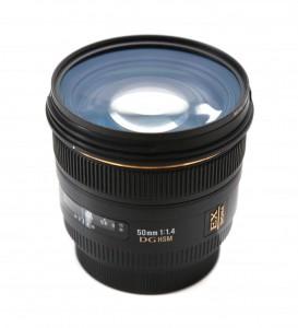 Sigma 50 mm f1.4 EX DG HSM фото