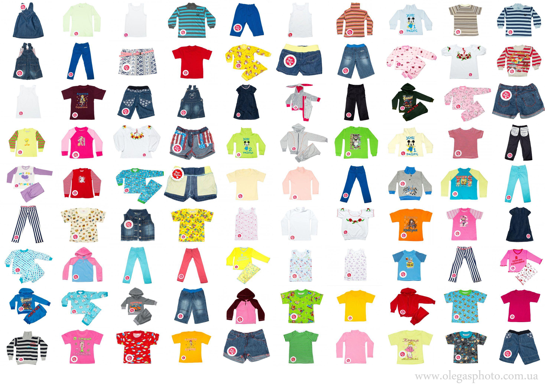 детская одежда на фото