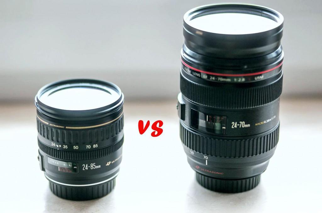 Canon 24-85vs24-70