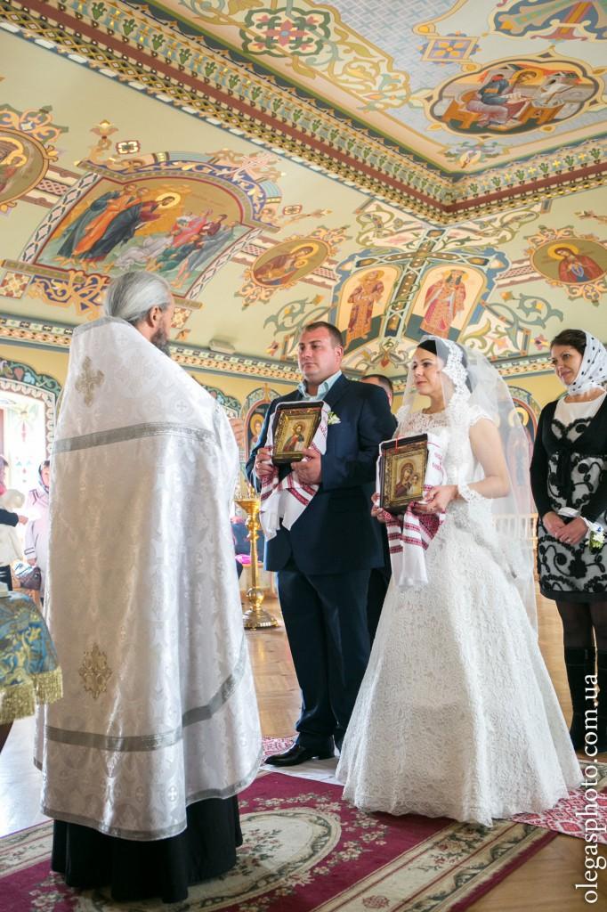 фото венчания в лавре