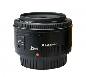 Yongnuo EF 35mm f2 фото