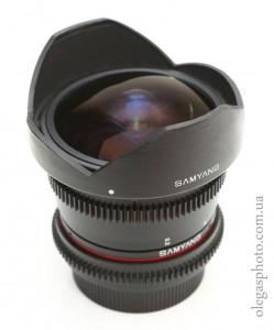 samyang 8mm t3.8 внешний вид