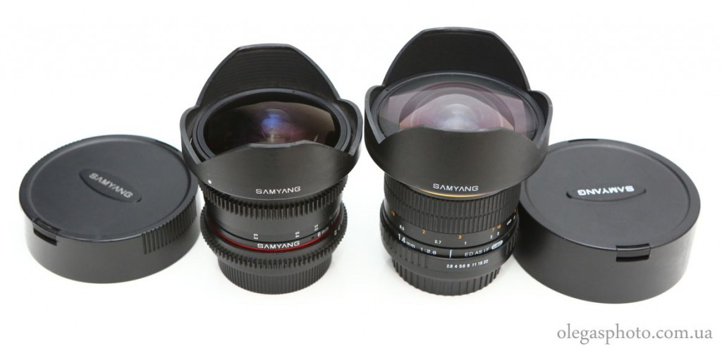 samyang 8mm t3.8 vs 14mm f2.8