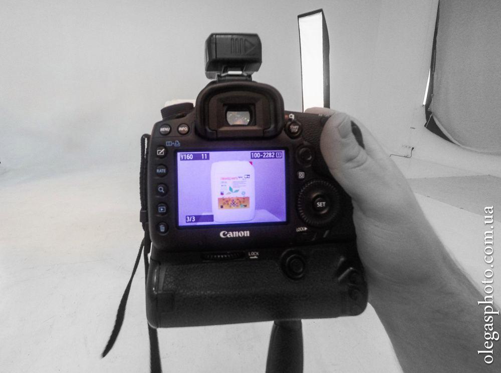 предварительная фотография в фотоаппарате
