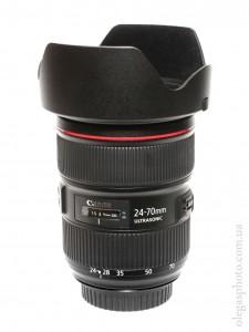 Canon EF 24-70mm f/2.8L II USM фото с блендой
