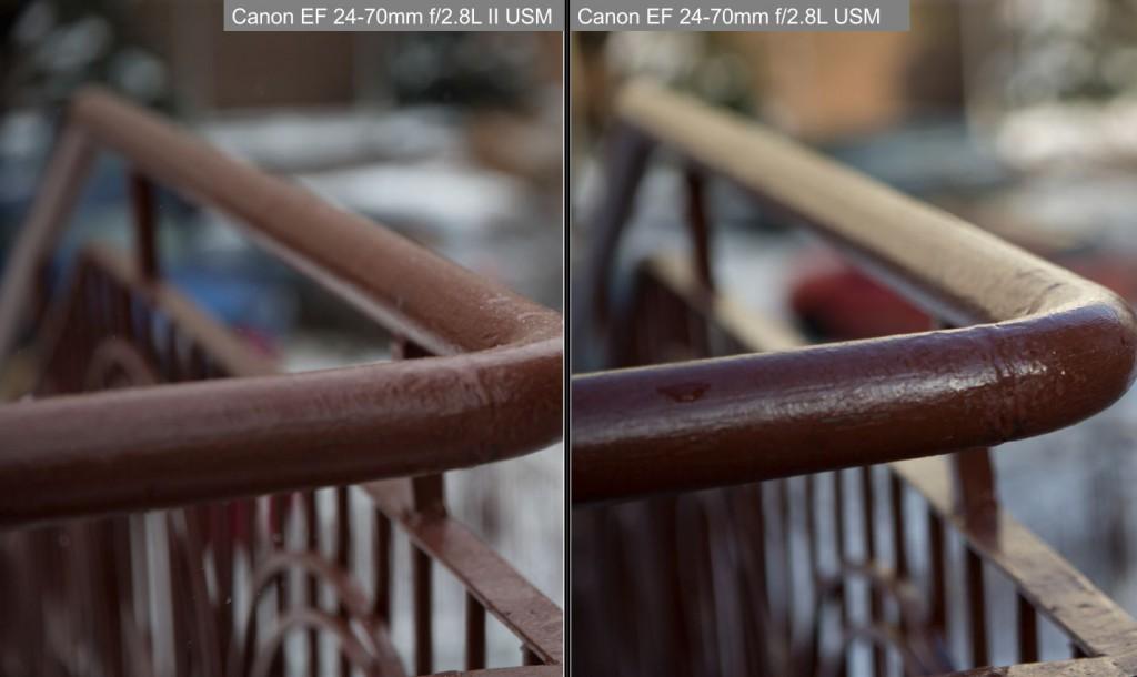 canon 24-70 ii боке сравнение