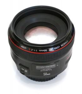 canon 50mm 1.2L фото