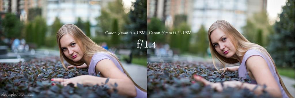 50mm f1.4 vs 1.2L (1)