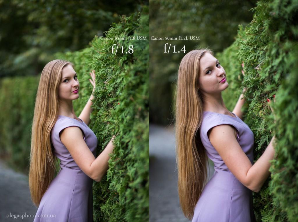 85mm f1.8 vs 50mm 1.2L