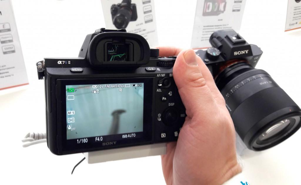 фотоаппарат sony a7 sii