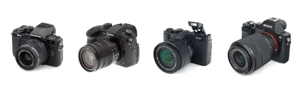 беззеркальные фотоаппараты обзор