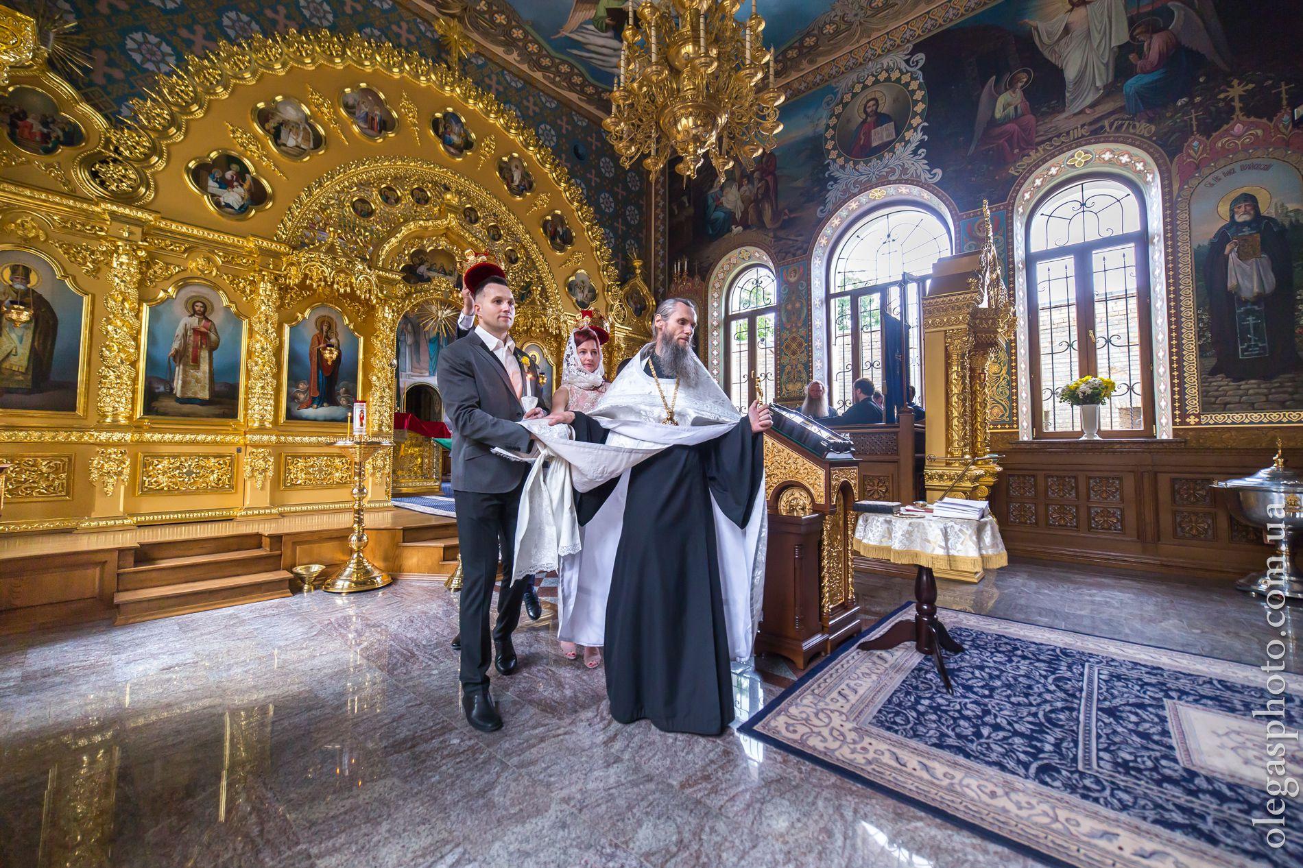 Особенности венчания в монастыре