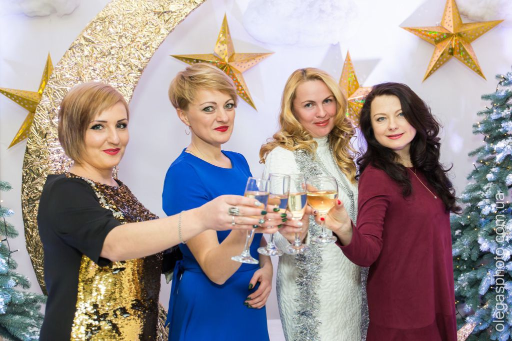 новогодний корпоратив фото