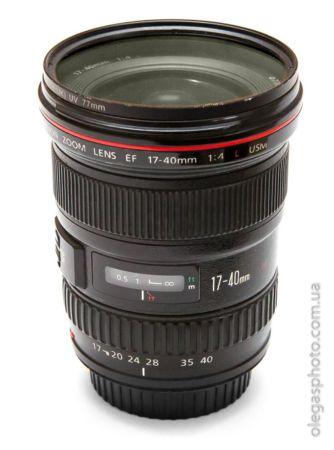 обзор Canon EF 17-40mm f/4L USM