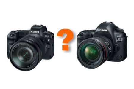 canon r vs 5d mk4