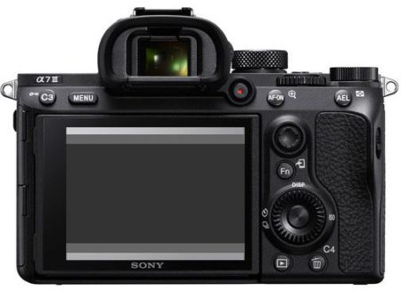 экран sony A7-III