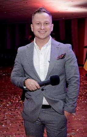 wedding host Evgeny Zharkov