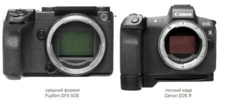 средний формат против полного кадра fujifilm gfx 50s vs canon r