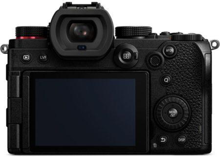 panasonic-s5 экран и видеоискатель