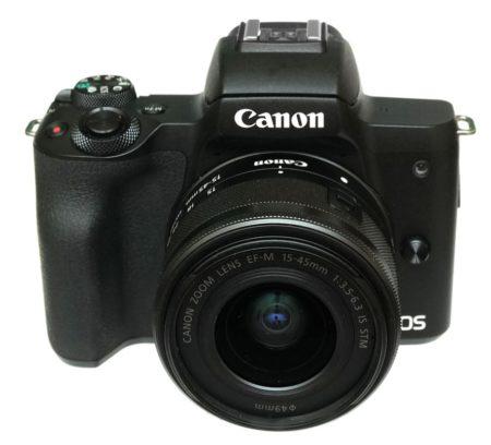 canon m50 спереди