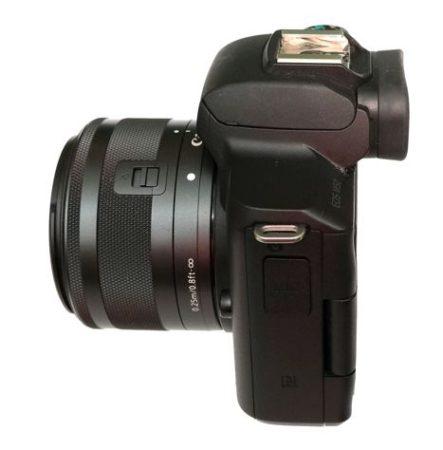 canon m50 сбоку