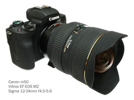 m50 + sigma 12-24mm
