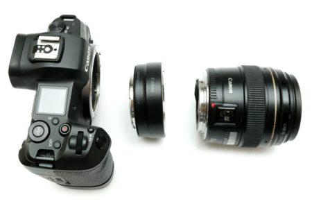 canon ef 85mm f1.8 на canon eos r