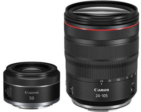 Canon rf 50 + 24-105