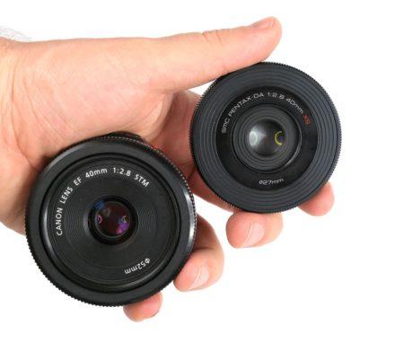 pentax 40mm f2.8 vs canon 40mm f2.8