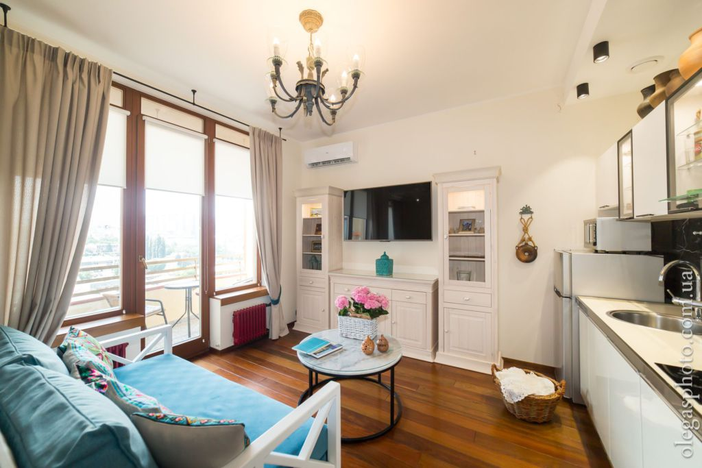 studio apartment interior
