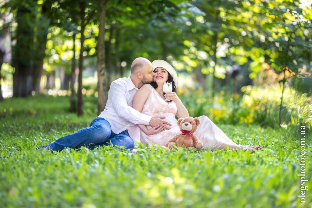 лав стори фотосессия для беременных