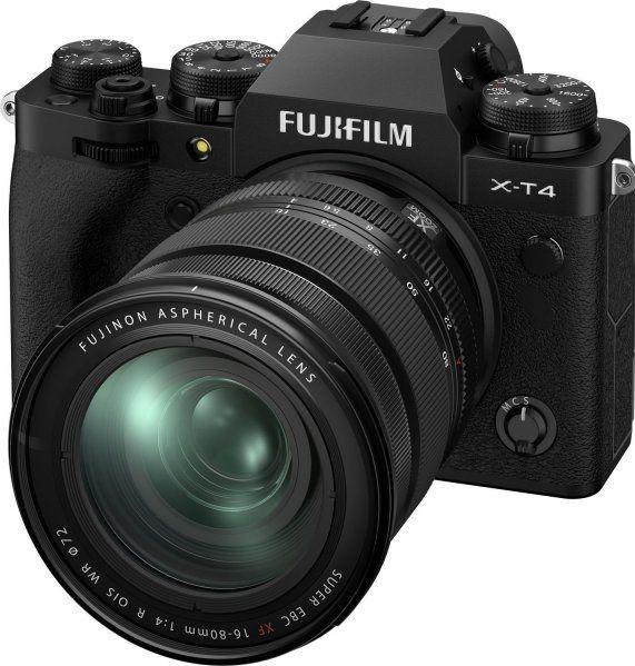 Fuji-xt4 mirrorless camera