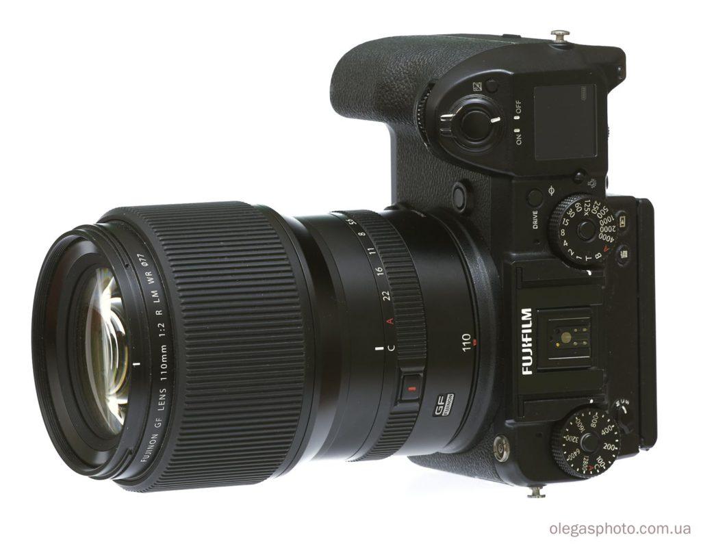 среднеформатная камера fujifilm gfx 50s с объективом 110мм
