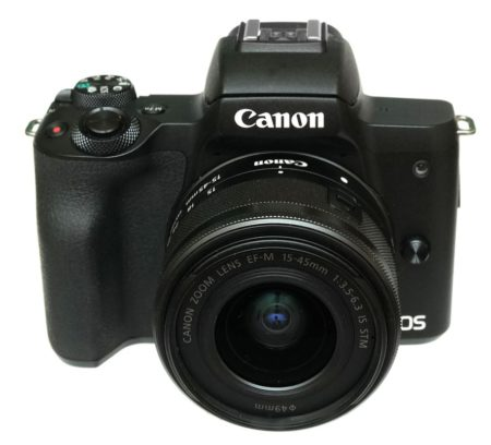 canon m50 front