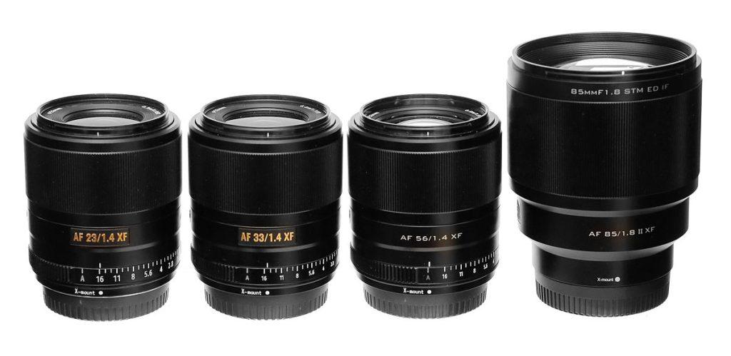 viltrox lens line for fujifilm