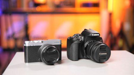 Canon 850D vs Fujifilm X-E4 review