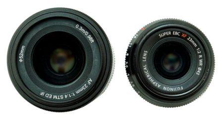 fujinon 23mm f2 vs viltrox 23mm f1.4