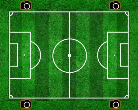 позиция фотографа для съёмки футбола - ракурс и точка съёмки