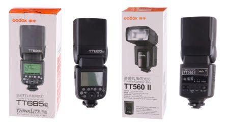 Godox TT560 II vs Godox TT685