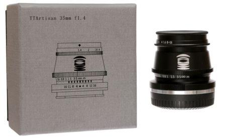 объектив ttartisan 35mm f1.4