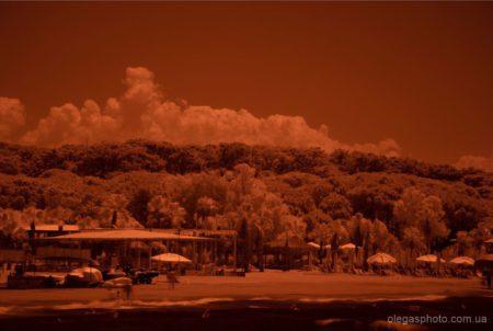инфракрасная фотография без обработки