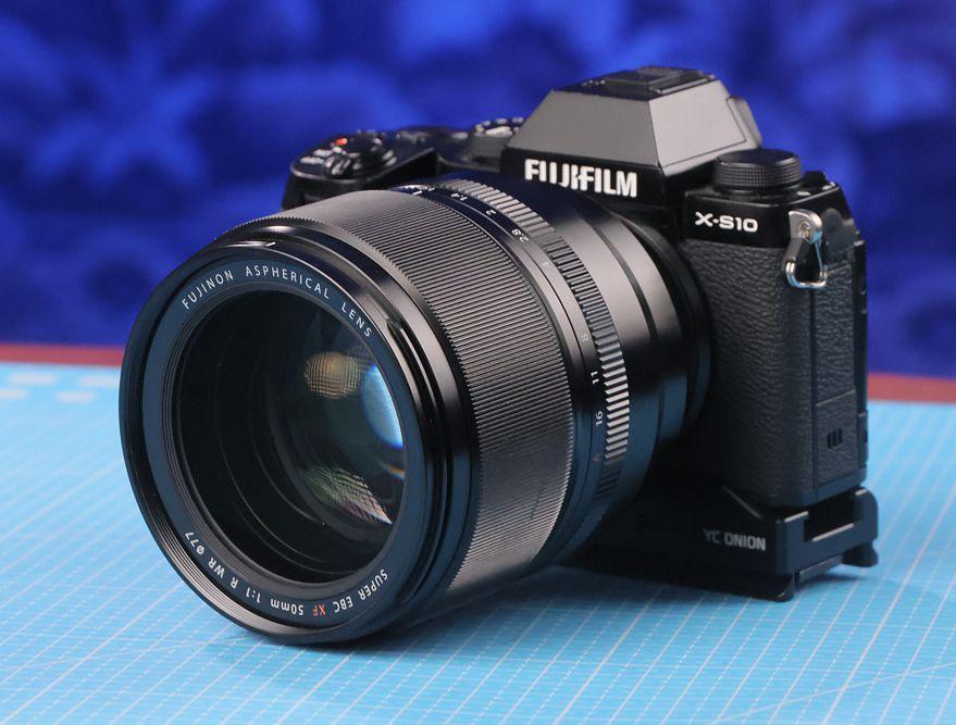 обзор Fujinon XF 50mm f1,0 R WR