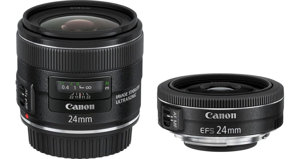 Canon EF 24mm f2.8 IS USM vs Canon EF-S 24mm f2.8 STM