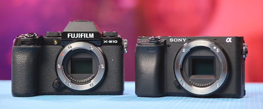 sony a6400 vs fujifilm x-s10