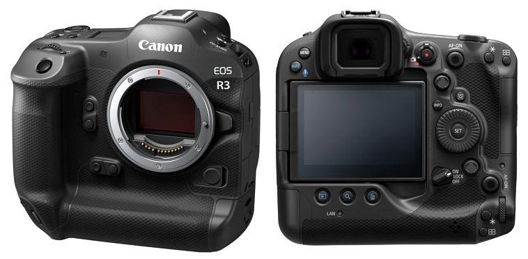 canon eos r3 внешний вид